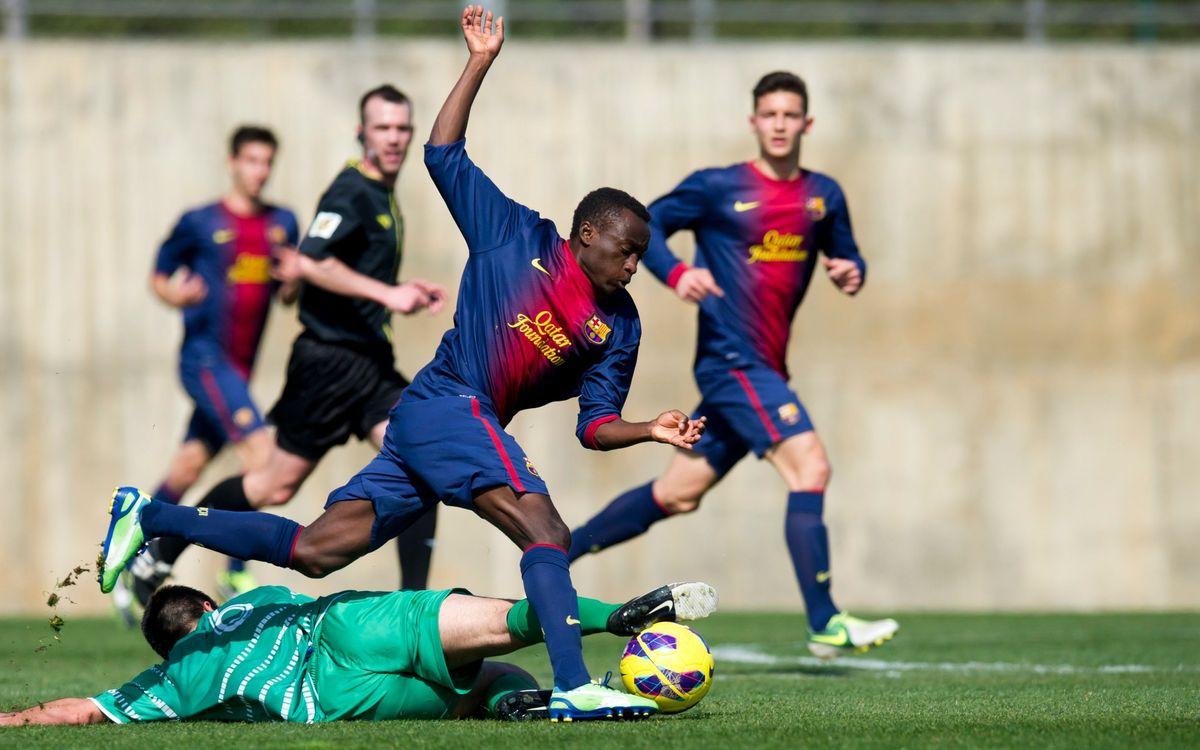 Las Palmas - FC Barcelona: Eliminats de la Copa de Campions (2-0)