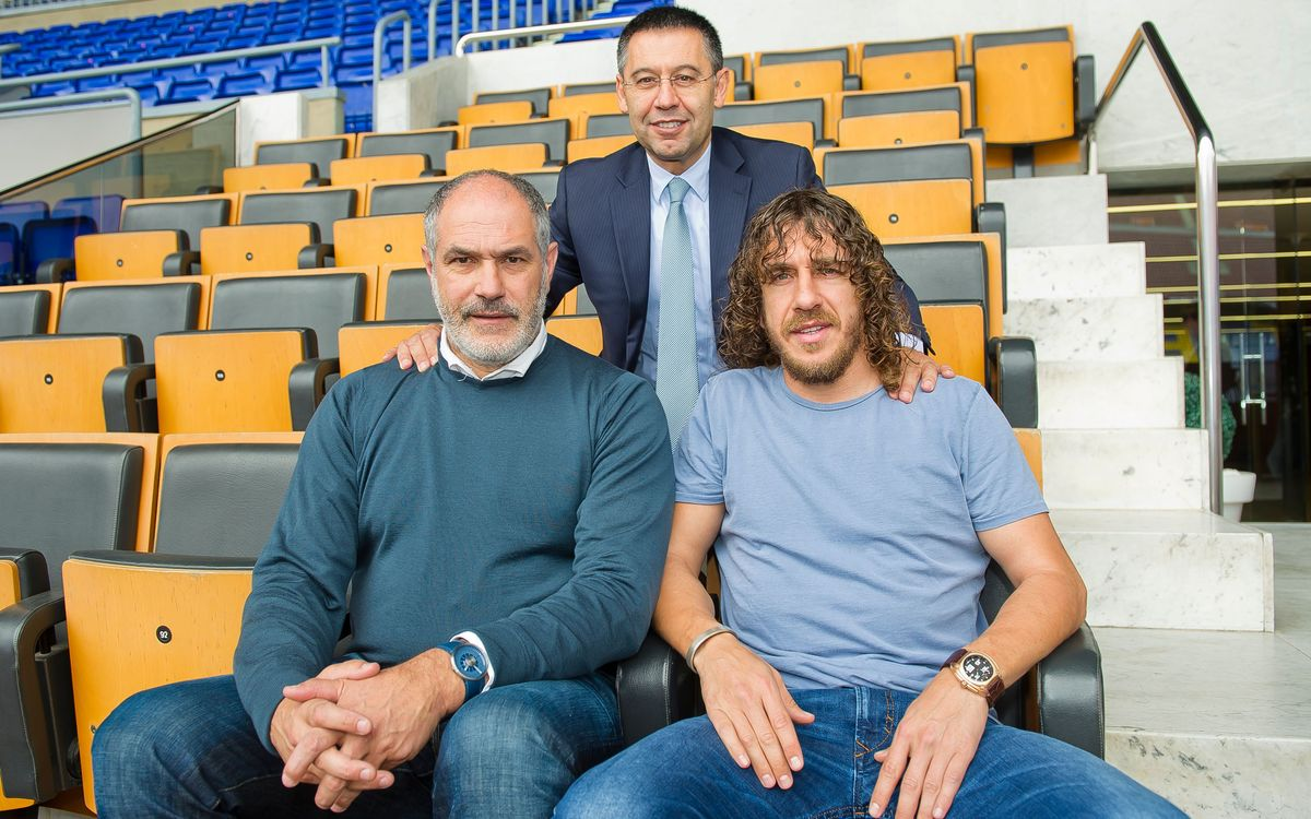 Bartomeu, Zubizarreta, and Puyol will be at the World Cup Final