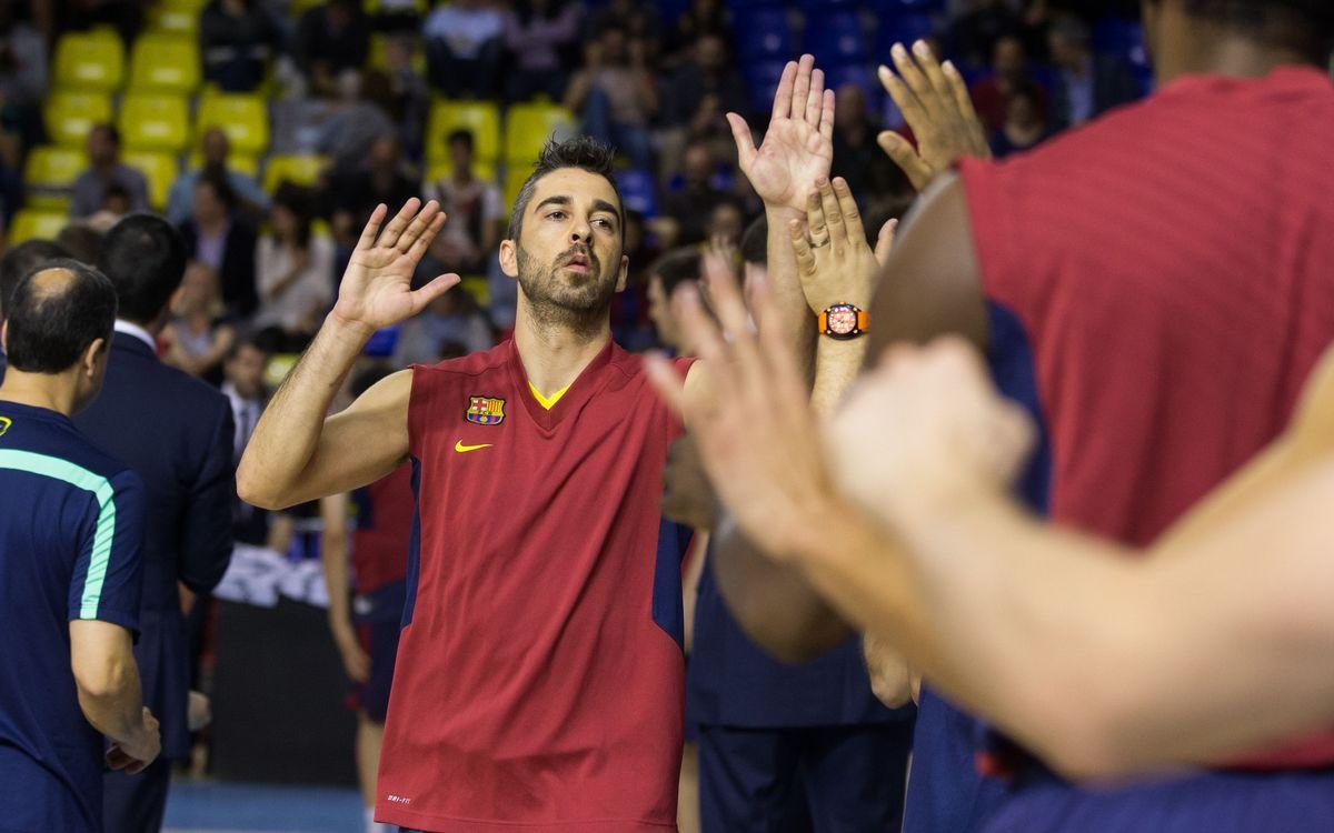 El vestidor del Barça parla de Juan Carlos Navarro