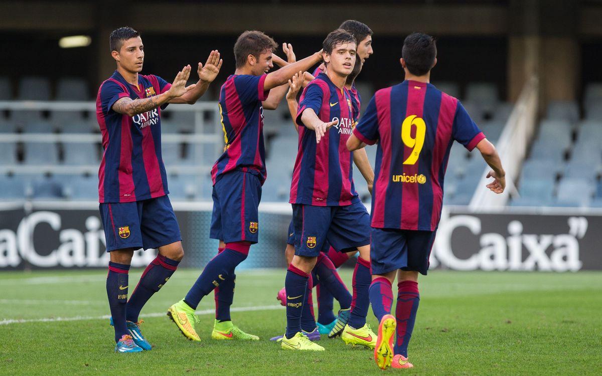 El millor de l'estrena a la UEFA Youth League del Juvenil A