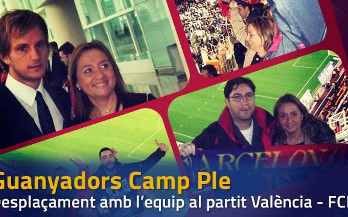 Viatgen a València amb l'equip