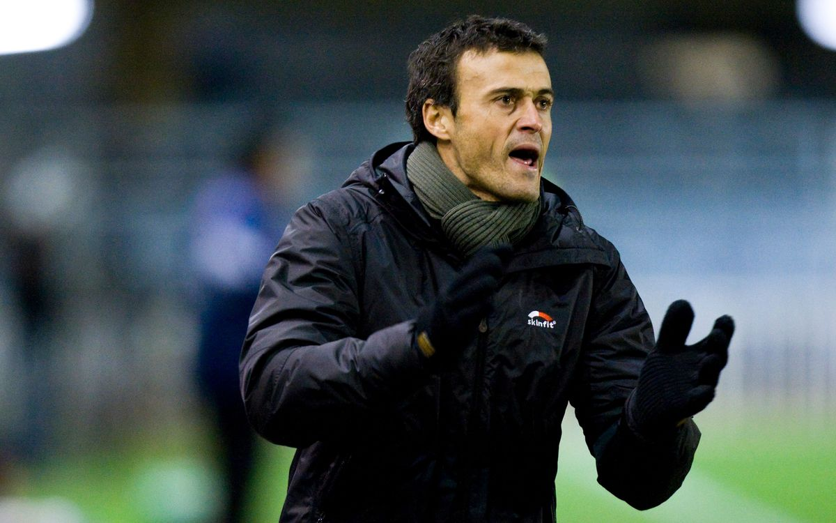 Luis Enrique's managerial track record