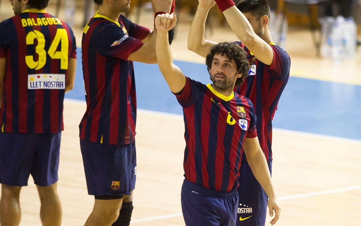 Día de despedidas para el balonmano en el Palau Blaugrana