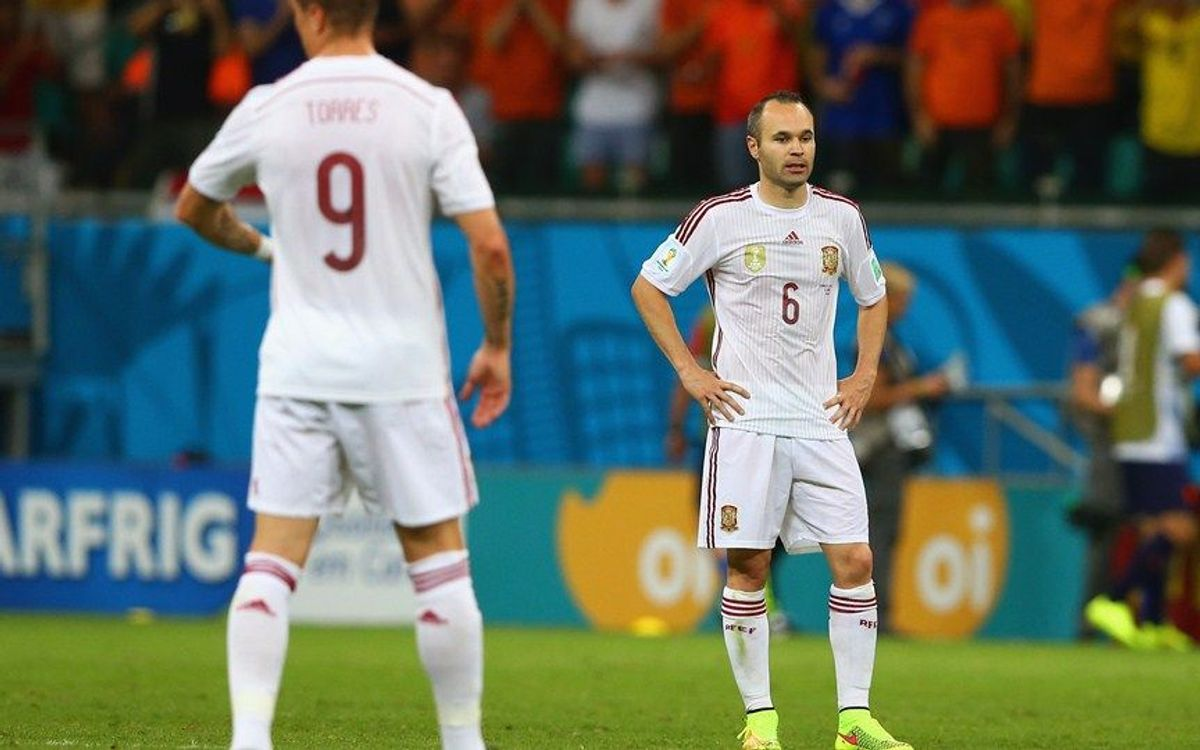 Spain concede five in World Cup opener against the Netherlands (1-5)