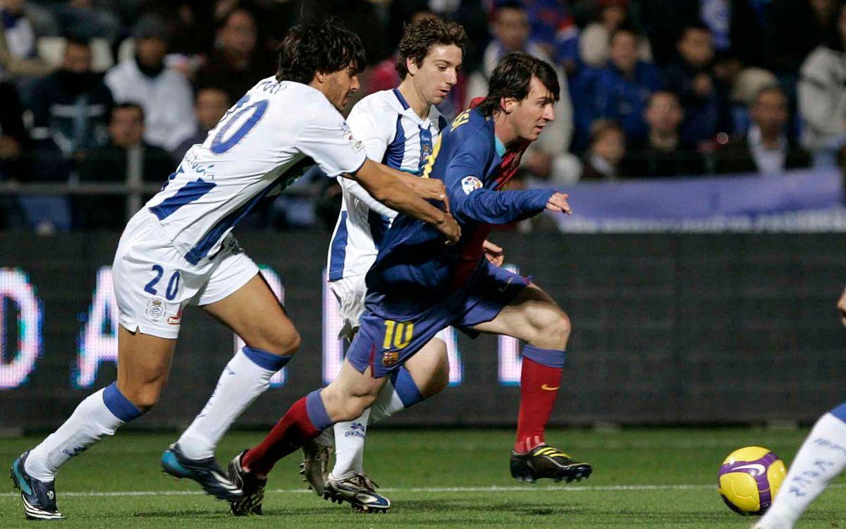 FC Barcelona's last visit to Huelva