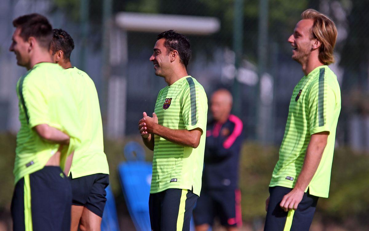 Squad announced versus Ajax Amsterdam