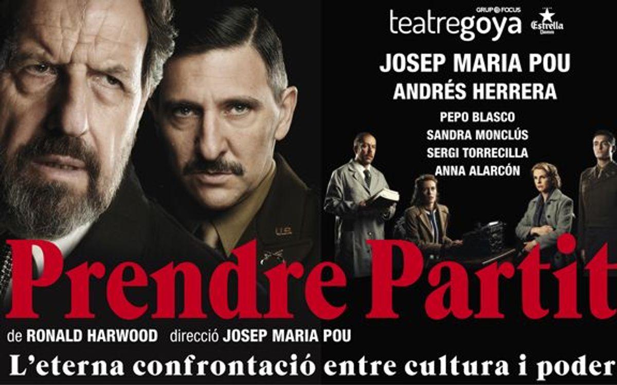 'Prendre partit' al Teatre Goya