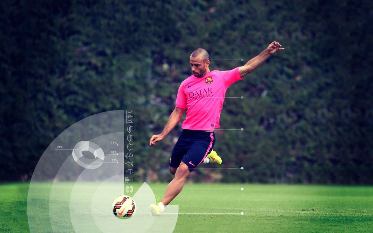 Mascherano: the versatile midfielder