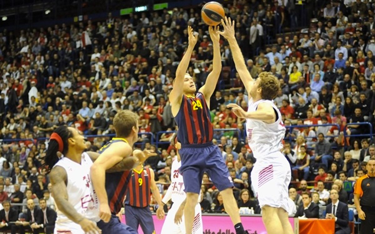 FC Barcelona wins 78-63 in Milan