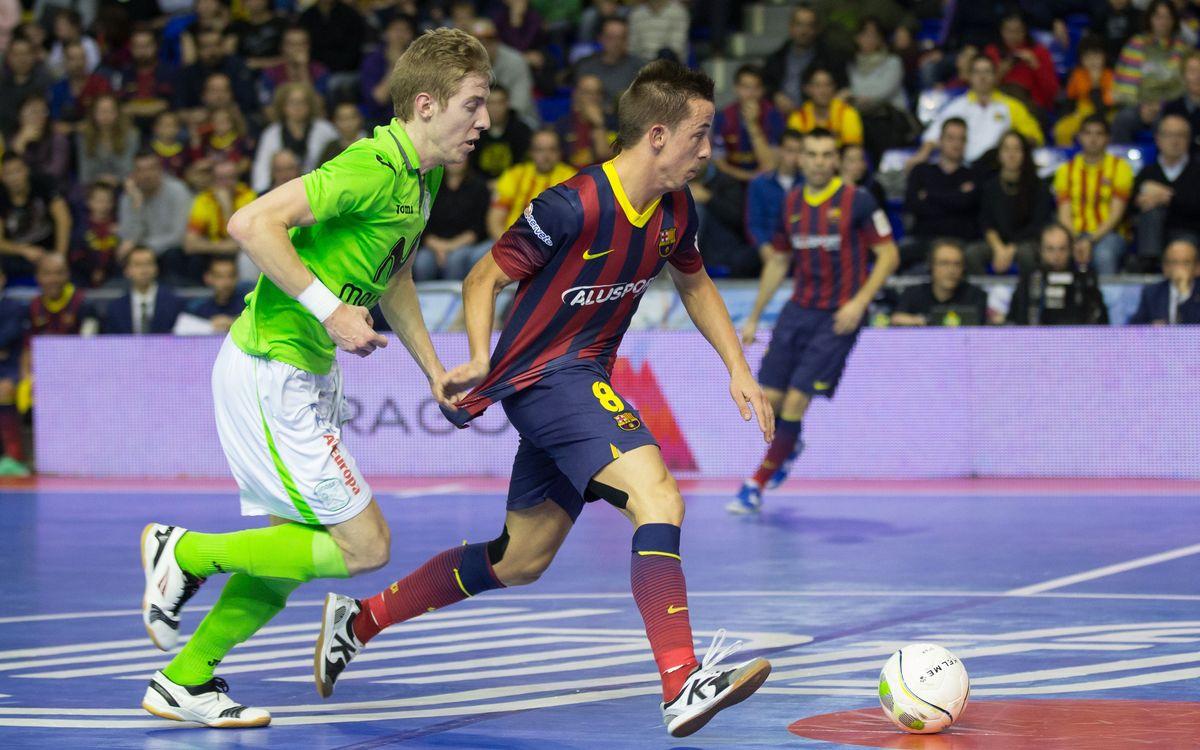 Batería firma por tres temporadas con el FC Barcelona