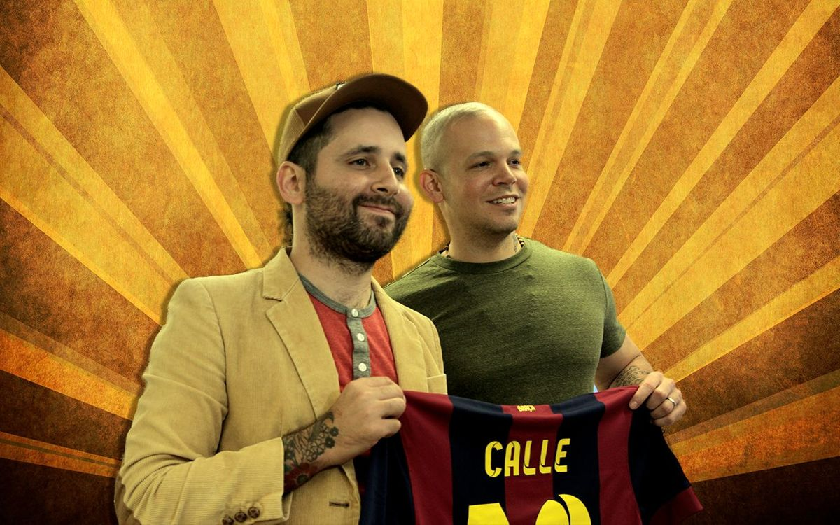 CALLE 13 GOES TO CAMP NOU
