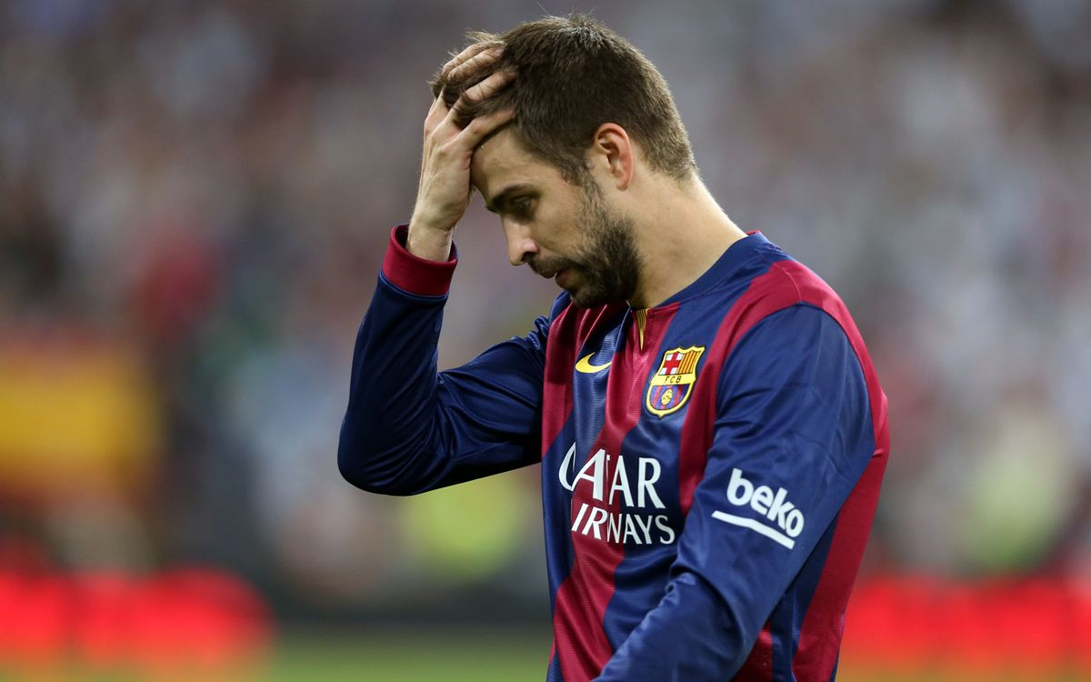 Gerard Piqué says result justified