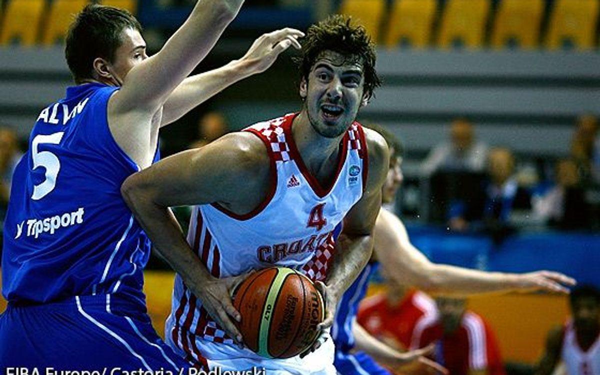 La Croàcia de Tomic es queda a una victòria de la final de l'Eurobasket