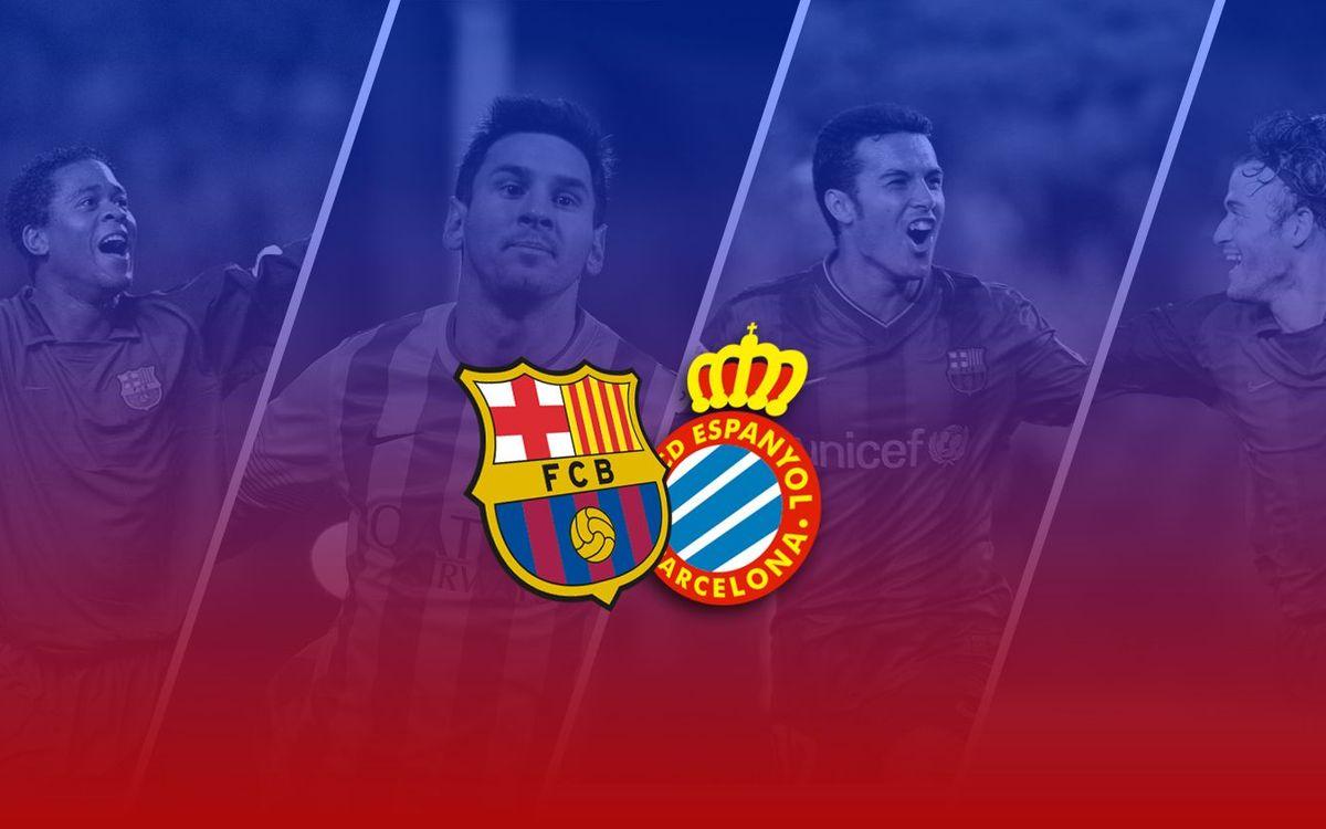 TOP5: Millors gols contra L'Espanyol al Camp Nou