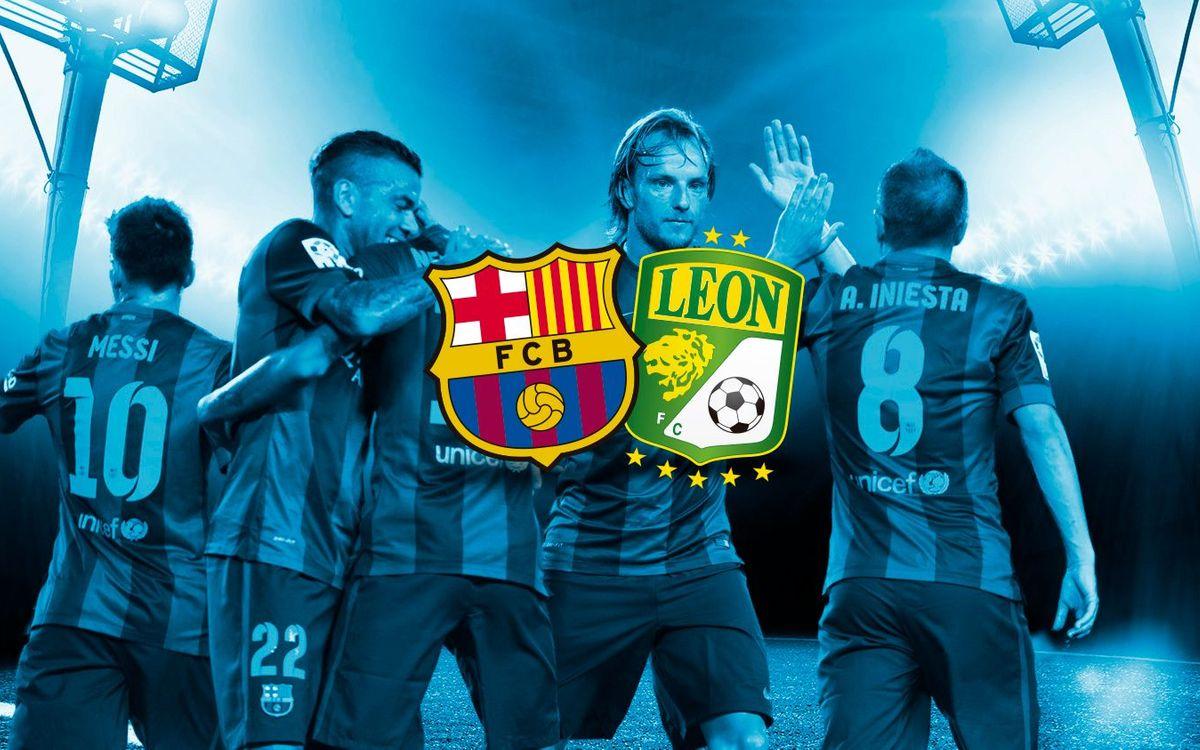 FC Barcelona: 6 - Club León: 0