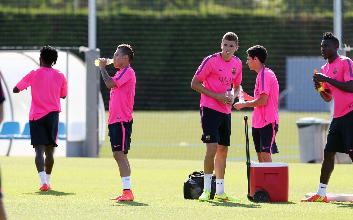Comença la segona setmana de treball del Barça B