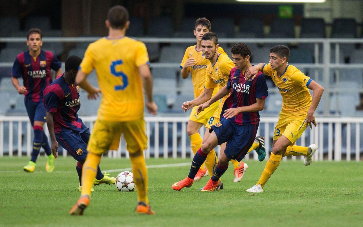 APOEL v FC Barcelona (U19): Tricky fixture in Larnaca