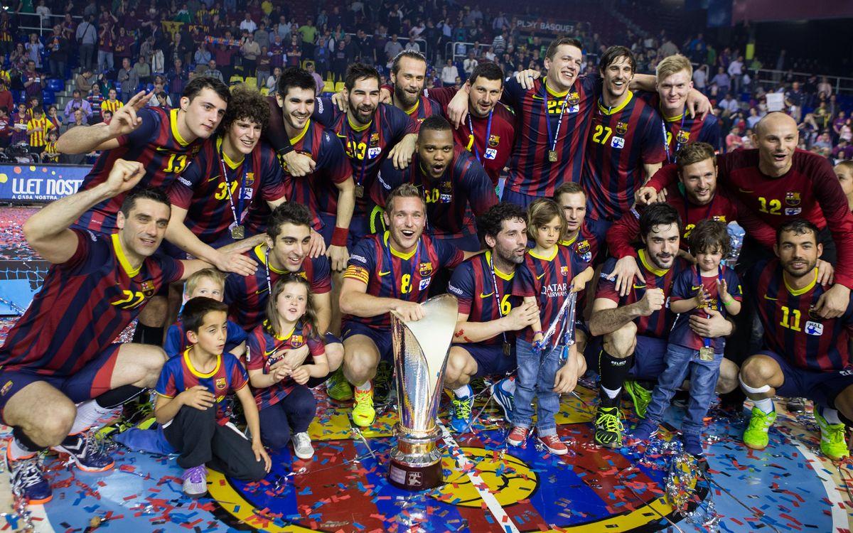 Pleno de triunfos histórico para el Barça de balonmano