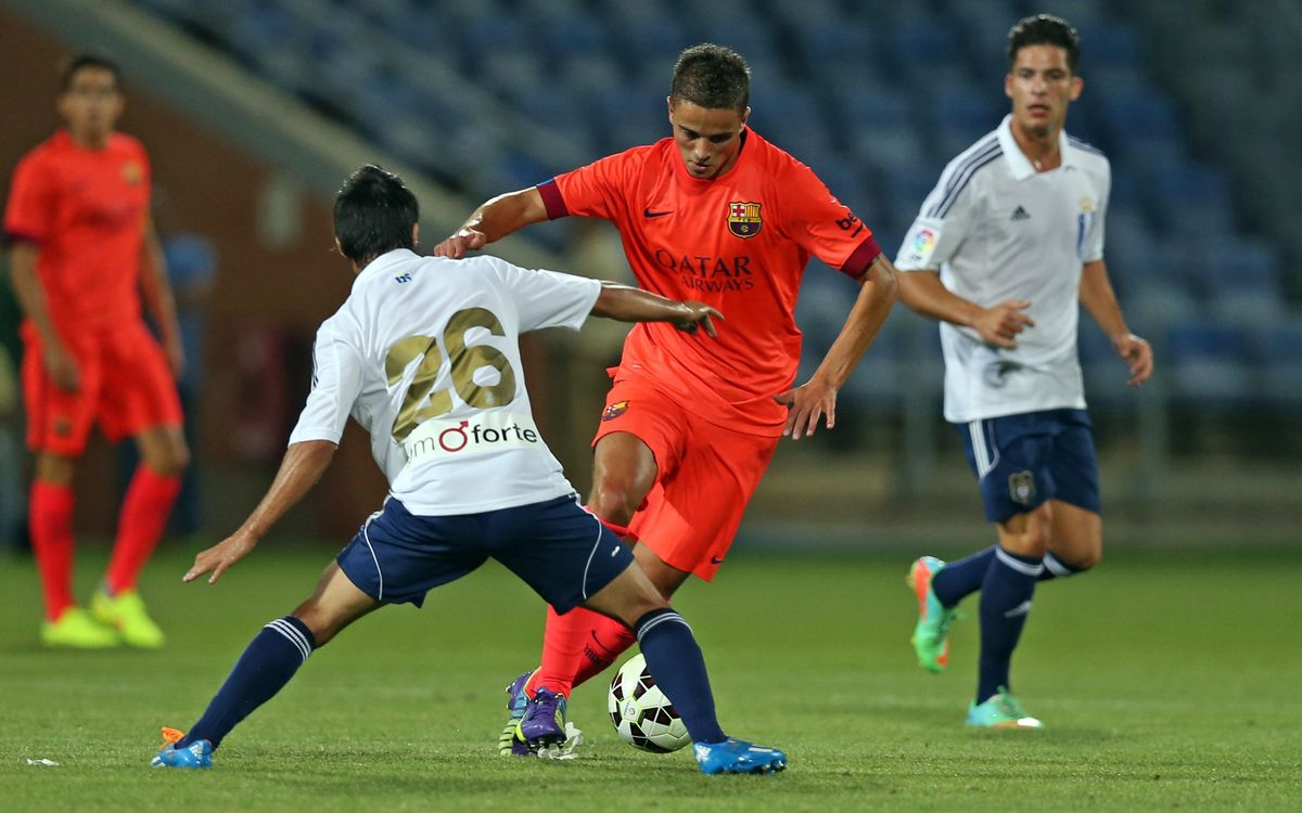 Afellay played in the second half against Recreativo Huelva / PHOTO: MIGUEL RUIZ - FCB
