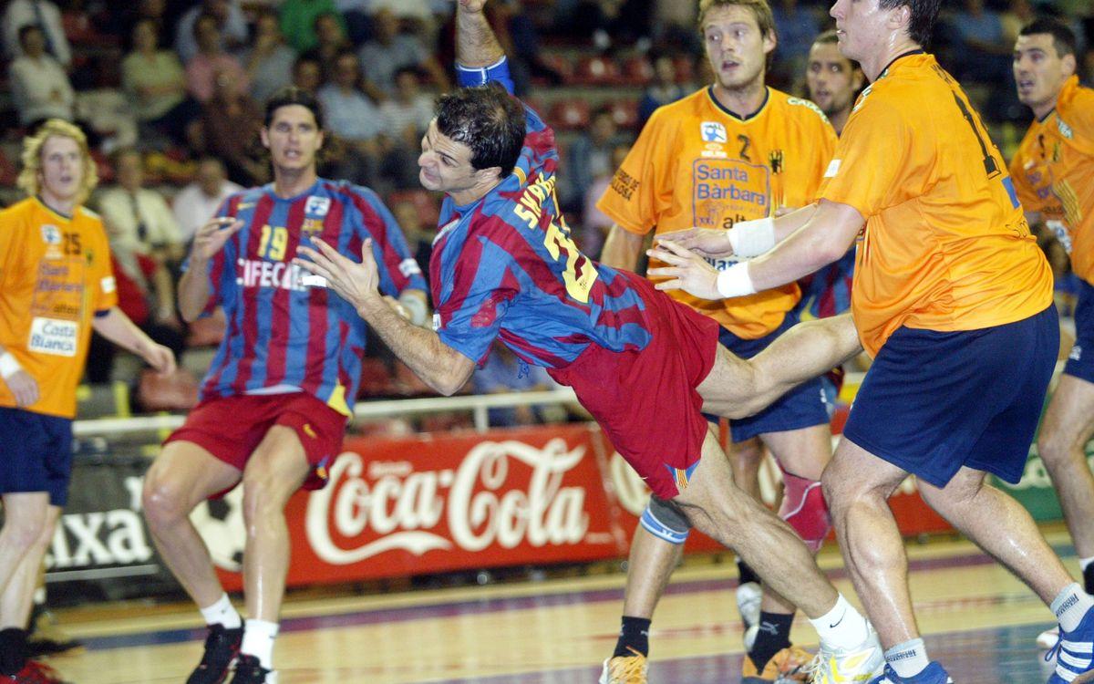Las Copas en Pamplona para el Barça de balonmano