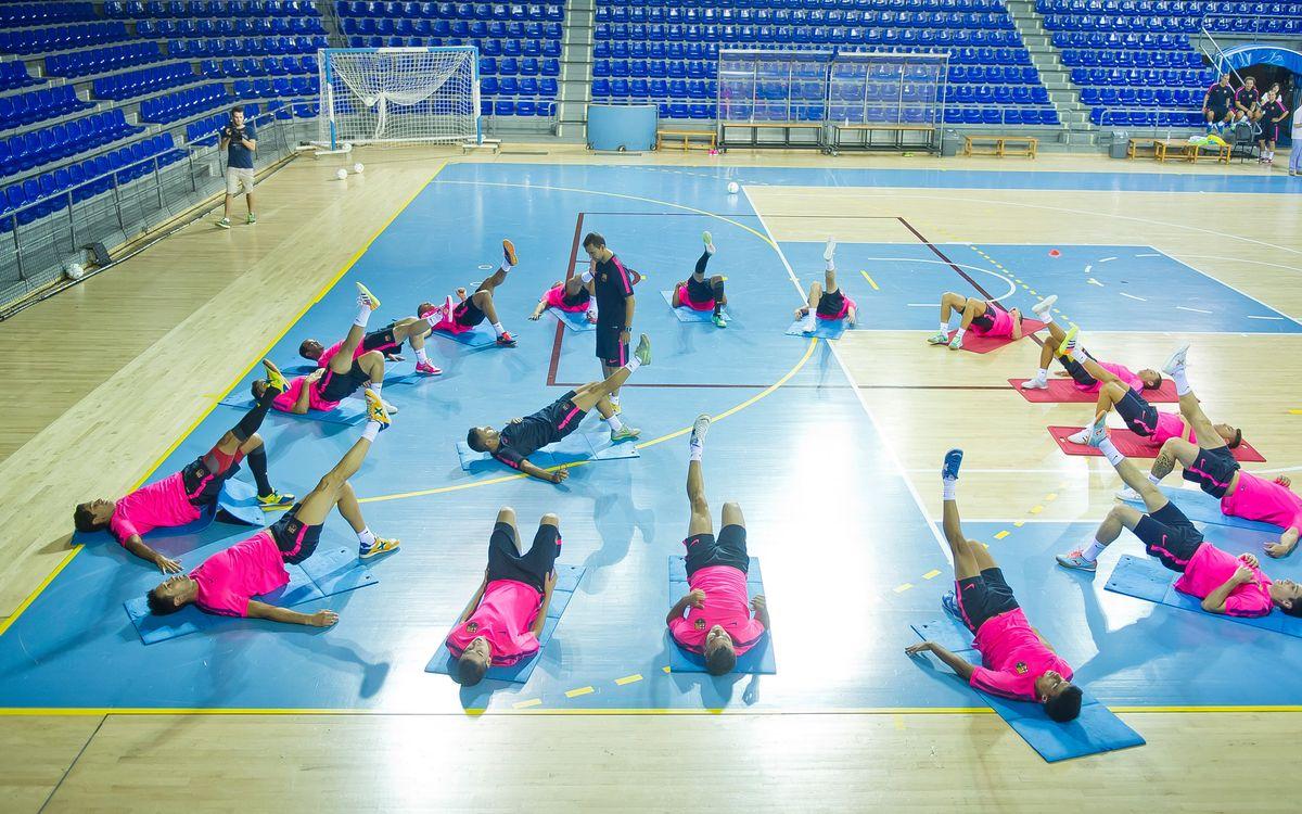 El Barça de fútbol sala vuelve al Palau