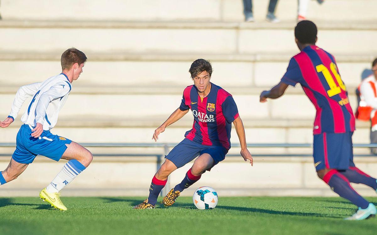 Juvenil A-Saragossa: Empat just (1-1)