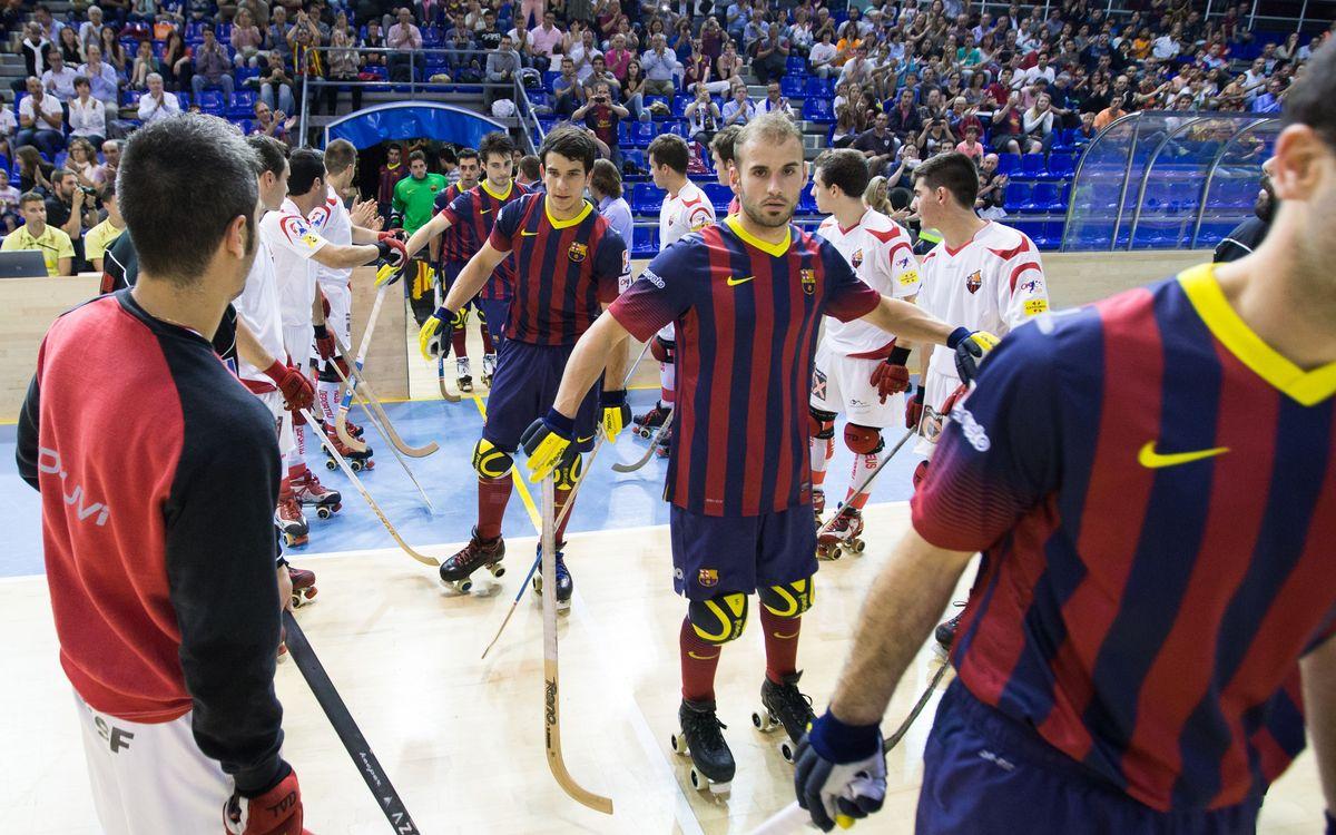El Barça – Reus, en dos minuts