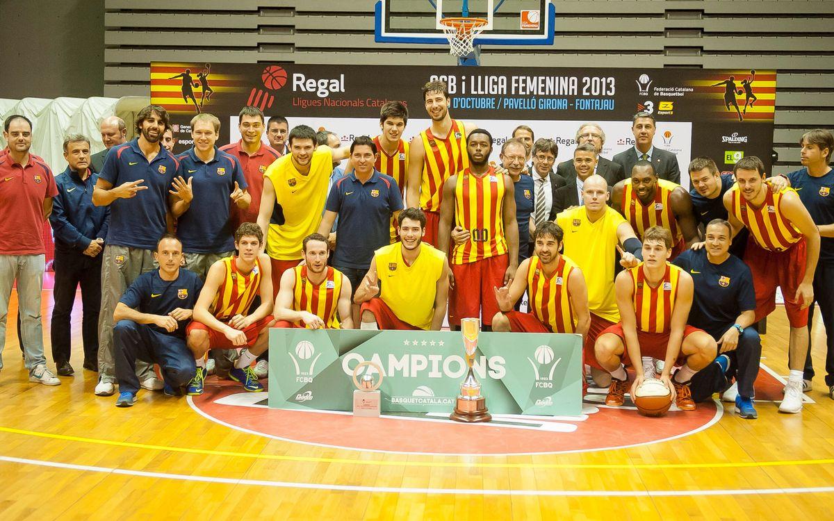 El Bàsquet Manresa, el rival del Barça de baloncesto en las semifinales de la Liga Catalana ACB