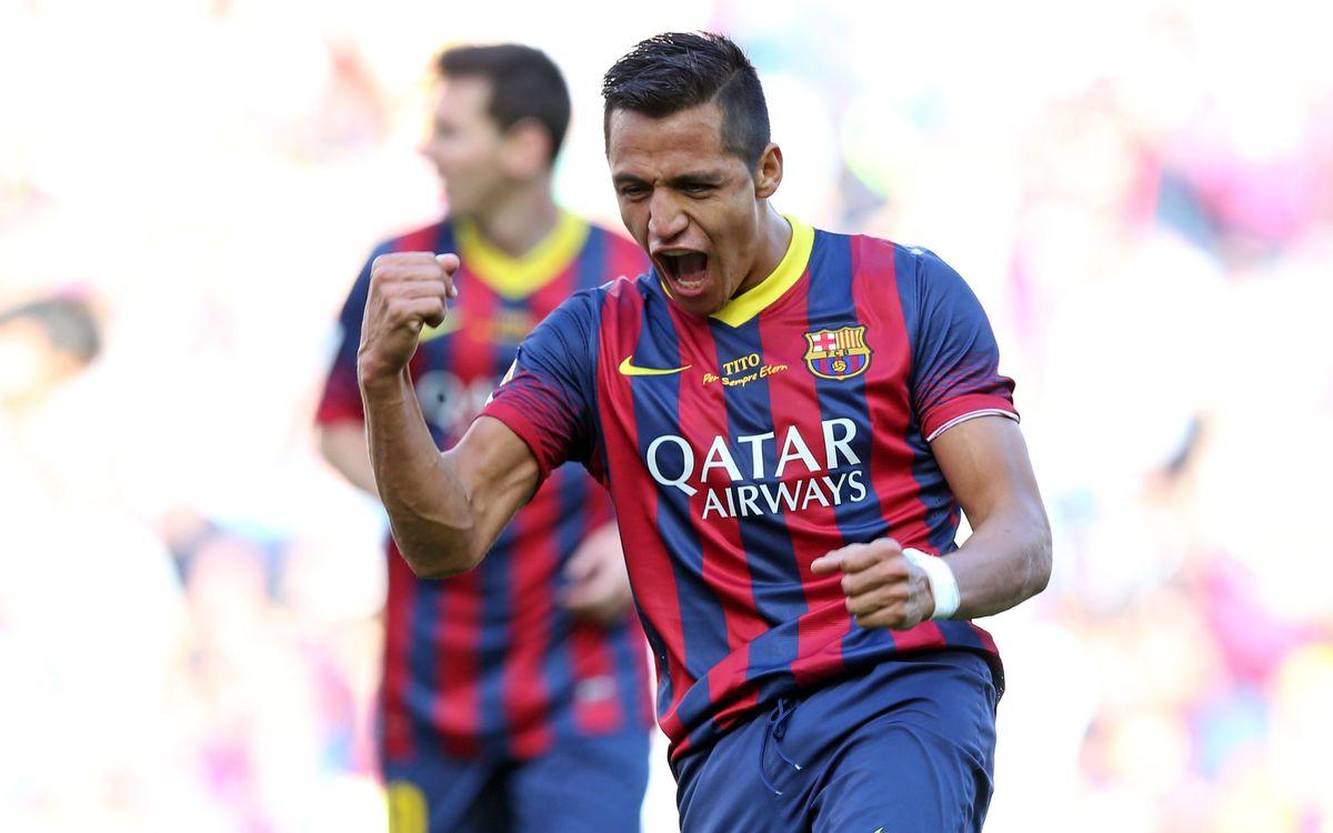 Alexis Sánchez recupera el gol