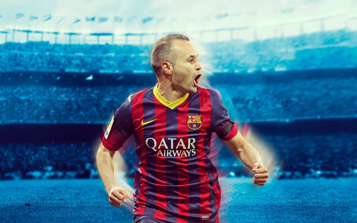 INIESTA: GOALS AND NUMBERS