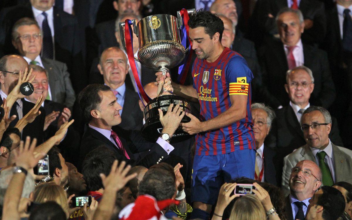 El rei Felip VI i el Barça