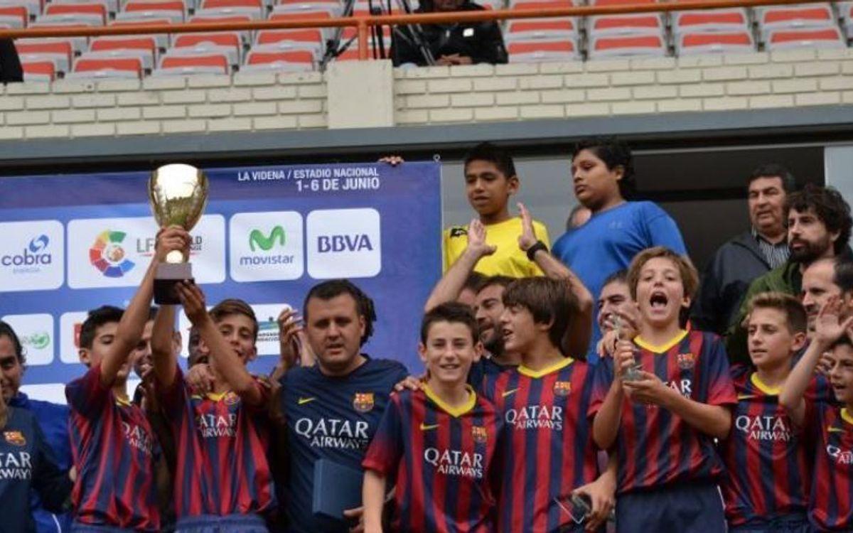 L'Aleví A fa doblet al Torneig Fundación El Larguero de Lima