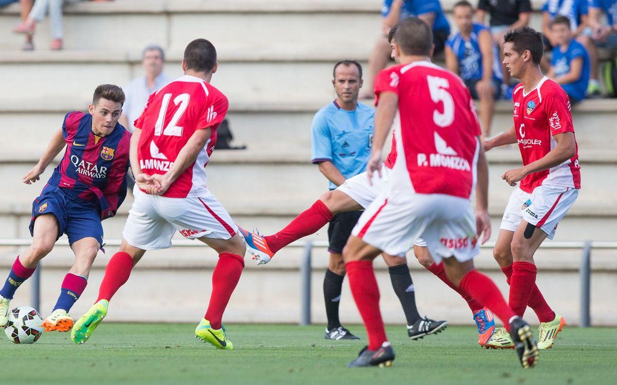 Barça B – UE Lleida: Amistoso sin goles (0-0)