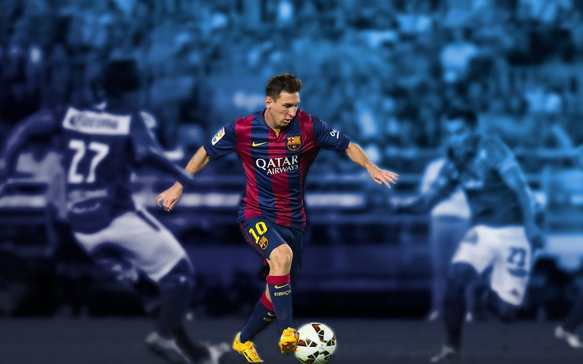Messi, his arrival at Barça