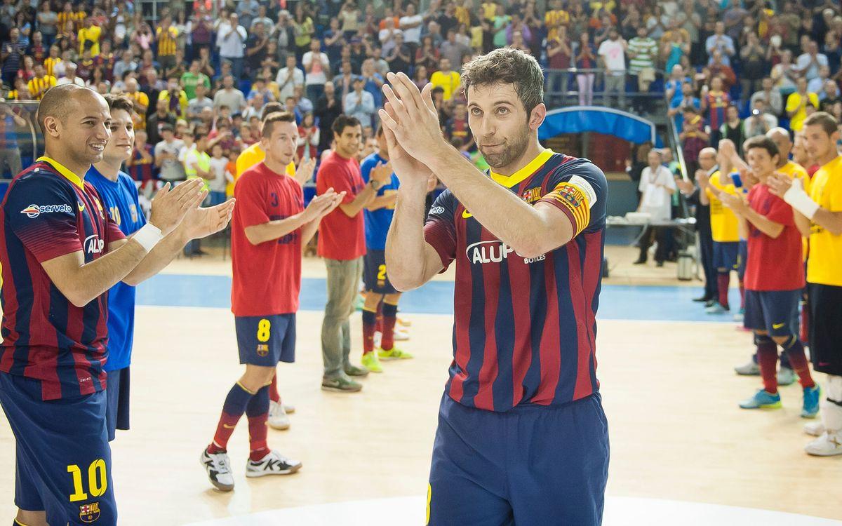 Jordi Torras deja el Barça Alusport después de ganar 13 títulos