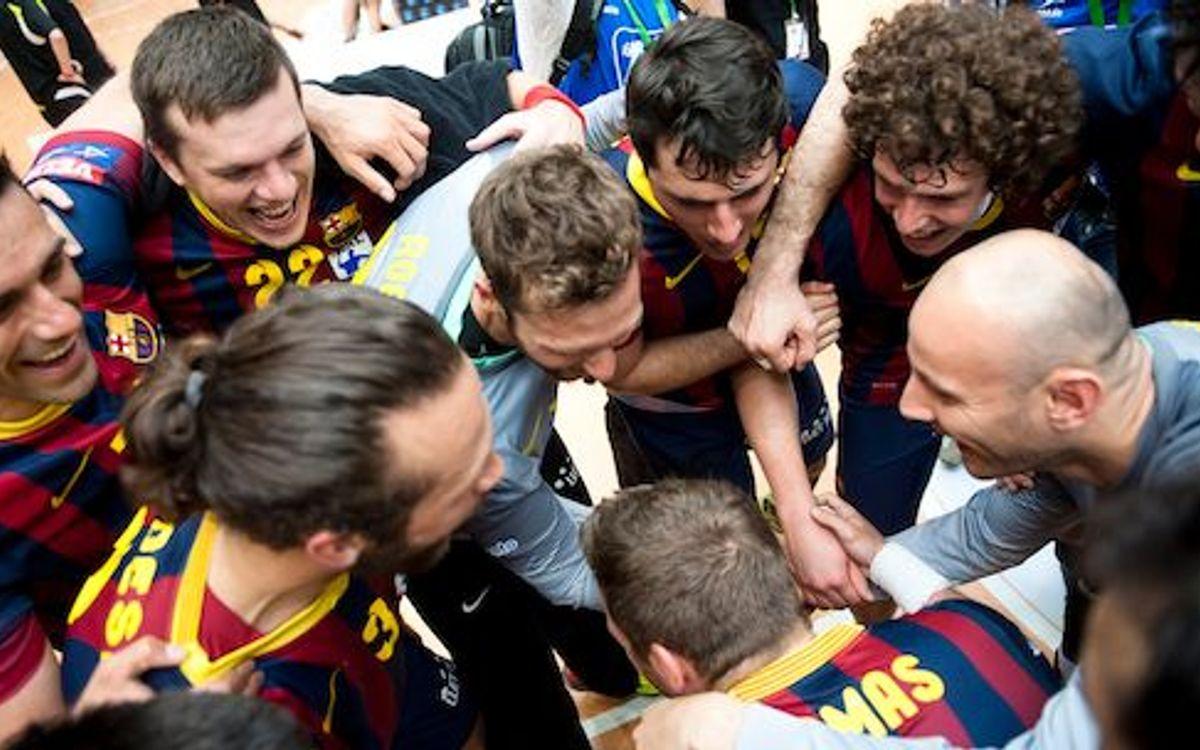 Divuitena Copa per al Barça d'handbol