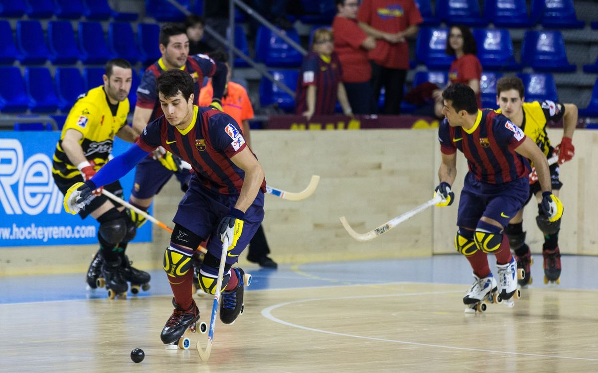 FC Barcelona - Noia Freixenet: Hard-earned victory for the leaders (6-2)
