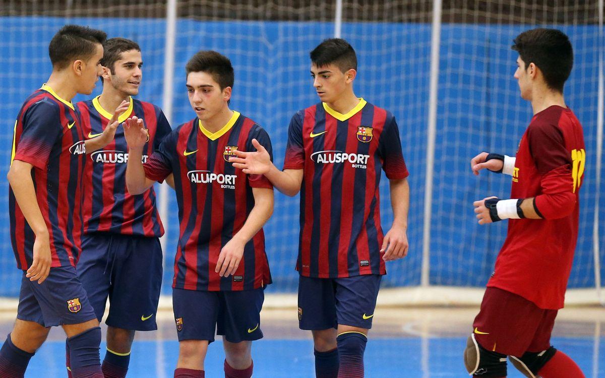 El Juvenil jugará la final de la Copa Catalunya