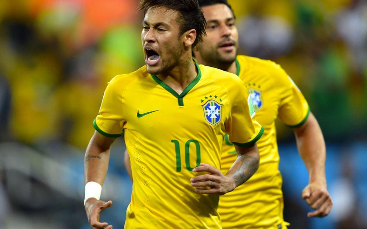 Neymar et le Brésil commencent bien