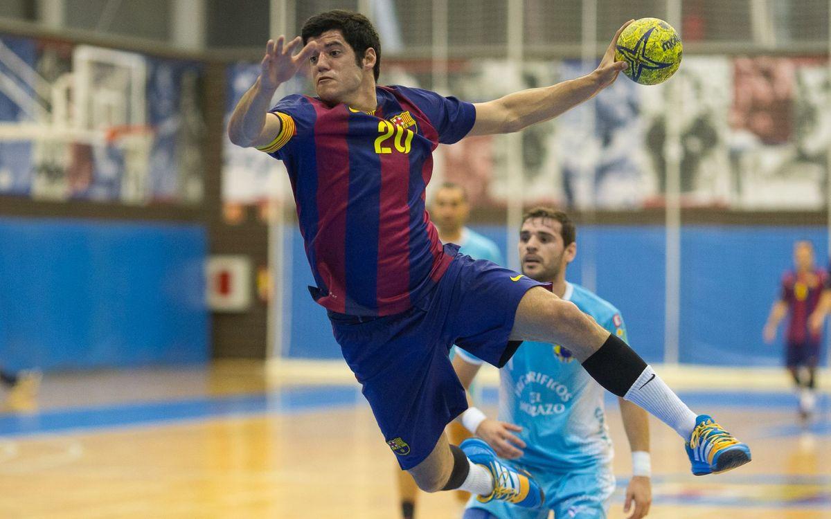 FC Barcelona B – Frigoríficos Morrazo (32-30): Repeteixen el somni