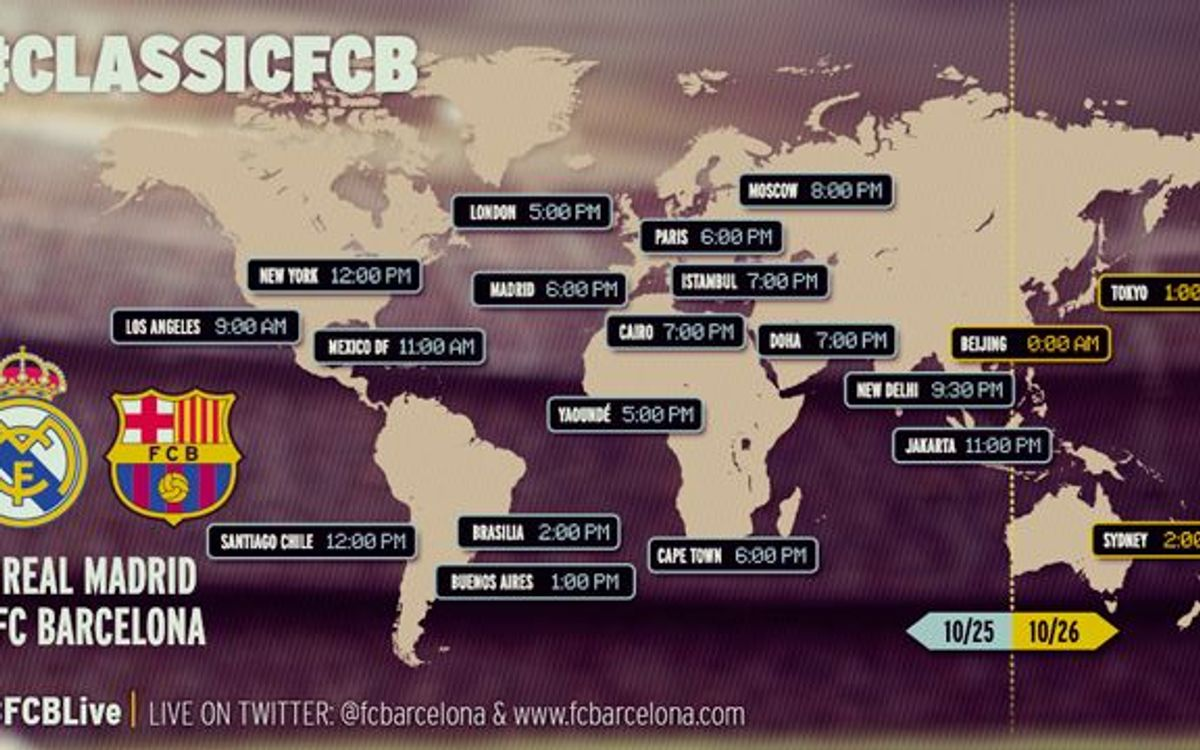 When and where to watch the Spanish League match between R. Madrid and FCBarcelona
