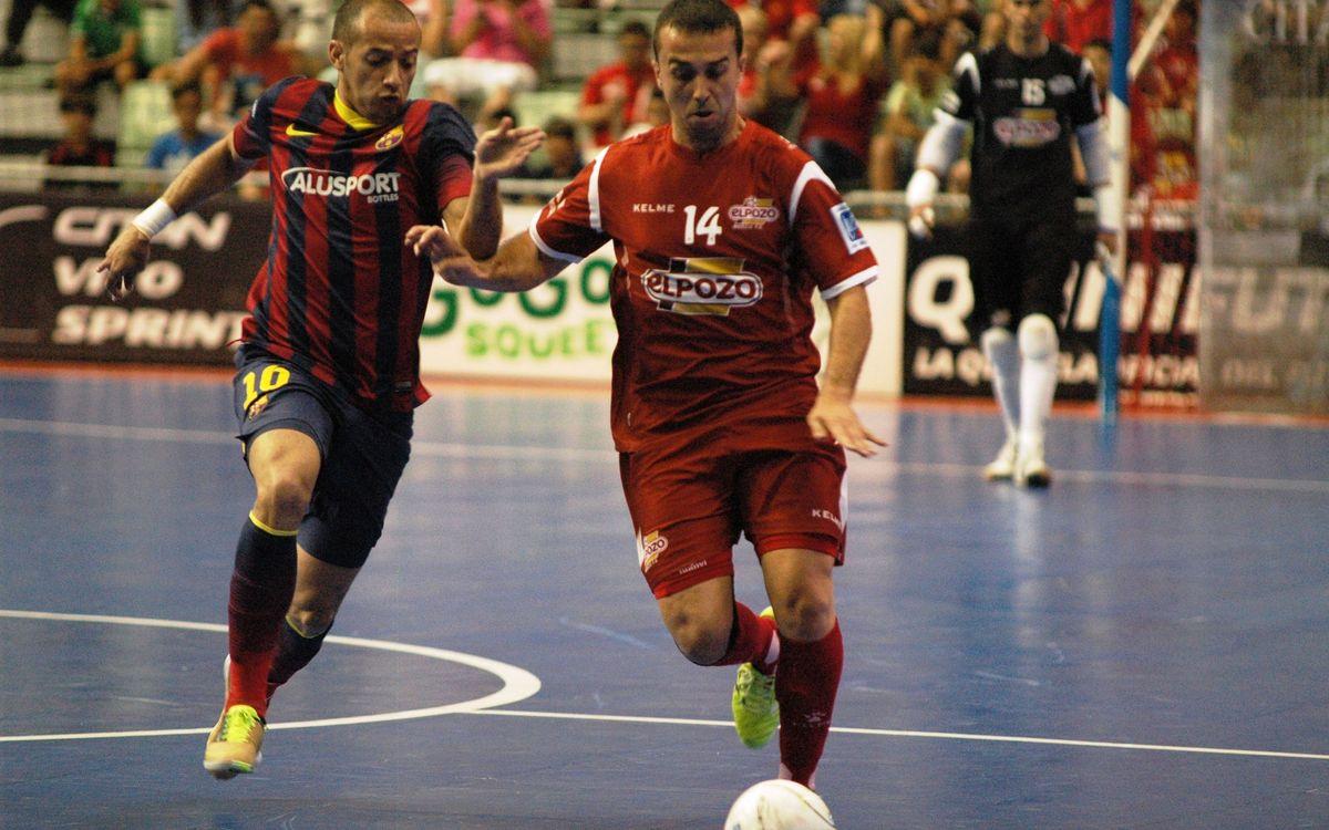 ElPozo Murcia-FCB Alusport: Será necesario el tercer partido (2-0)