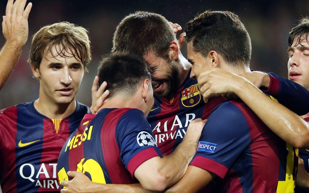 FC Barcelona - APOEL FC: Winning start (1-0)