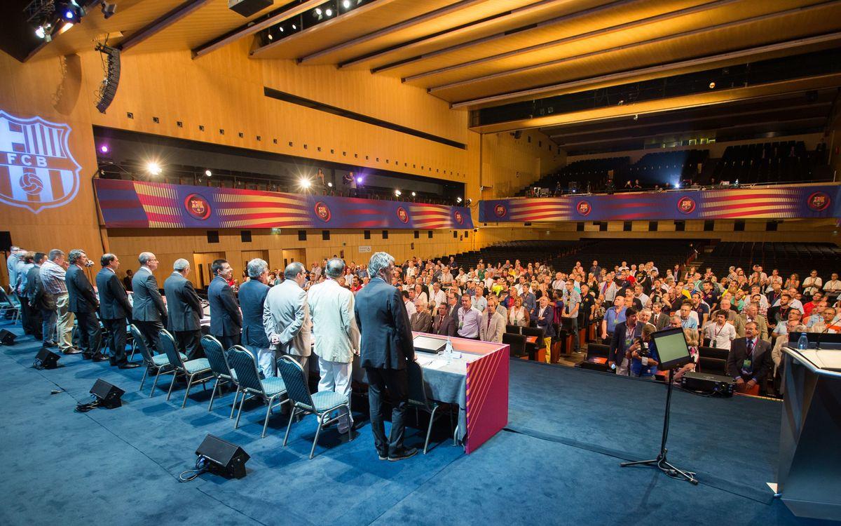 Primer dia intens del XXXVè Congrés Mundial de Penyes