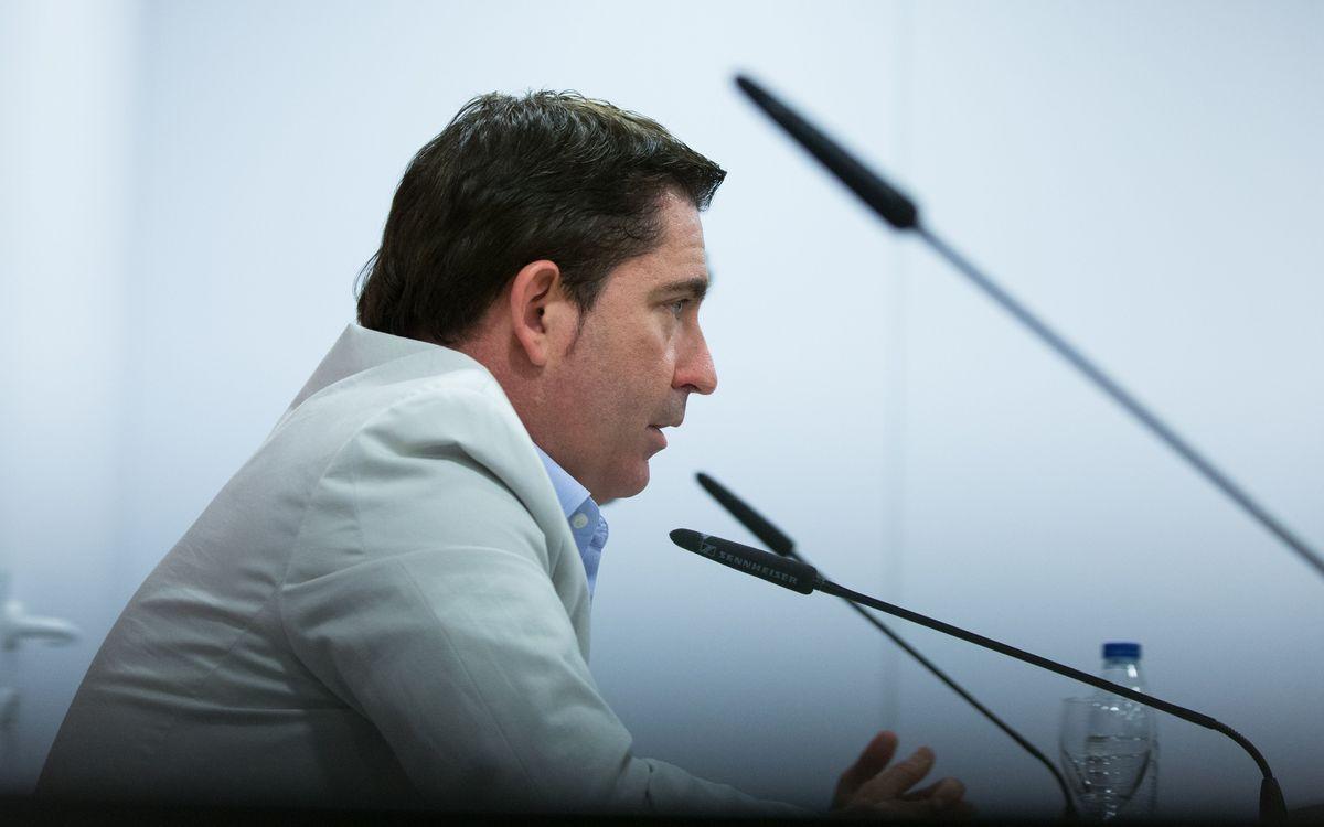 """Xavi Pascual: """"Hem lluitat molt per estar aquí"""""""