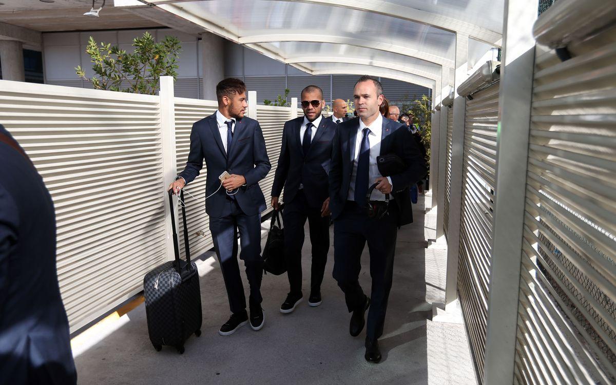 Inside view: The trip to the Santiago Bernabéu