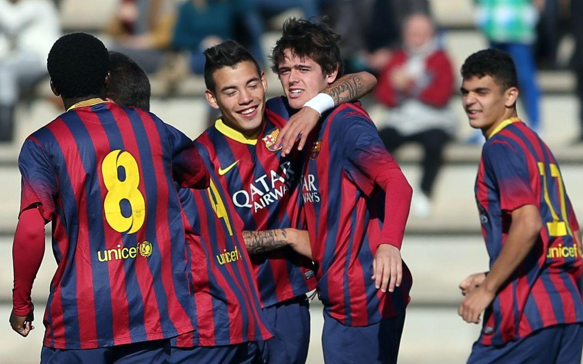DIRECTO / FC Barcelona - Real Madrid CF (Copa Campeones Juvenil)