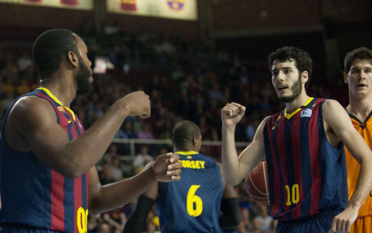 FC Barcelona - Fuenlabrada: Dinámica ganadora (81-63)