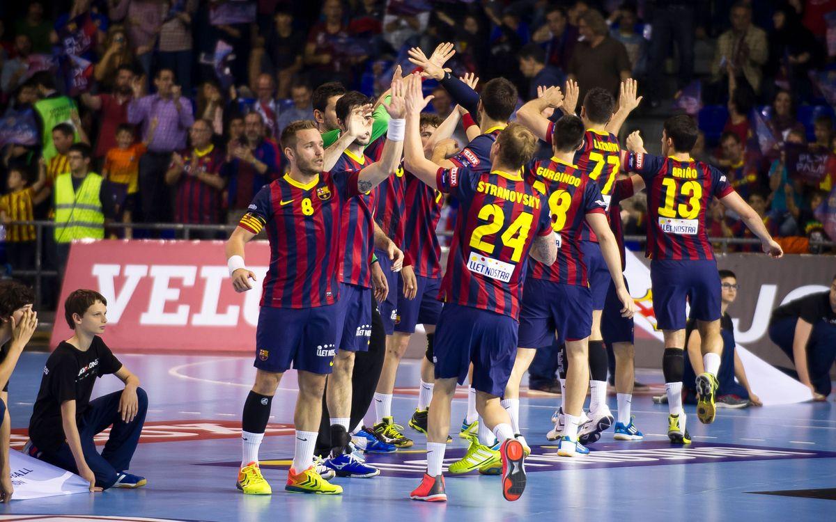 Barça d'handbol: No val a badar a Pamplona