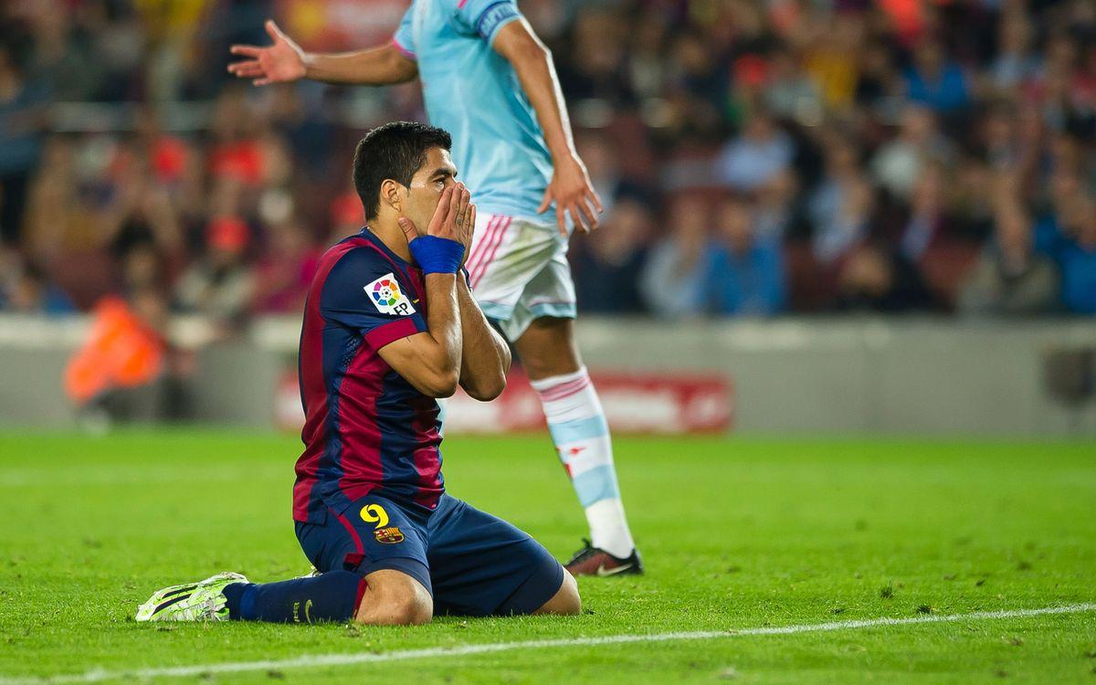 FC Barcelona v Celta highlights